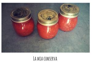 conserva di pomodori fatta in casa