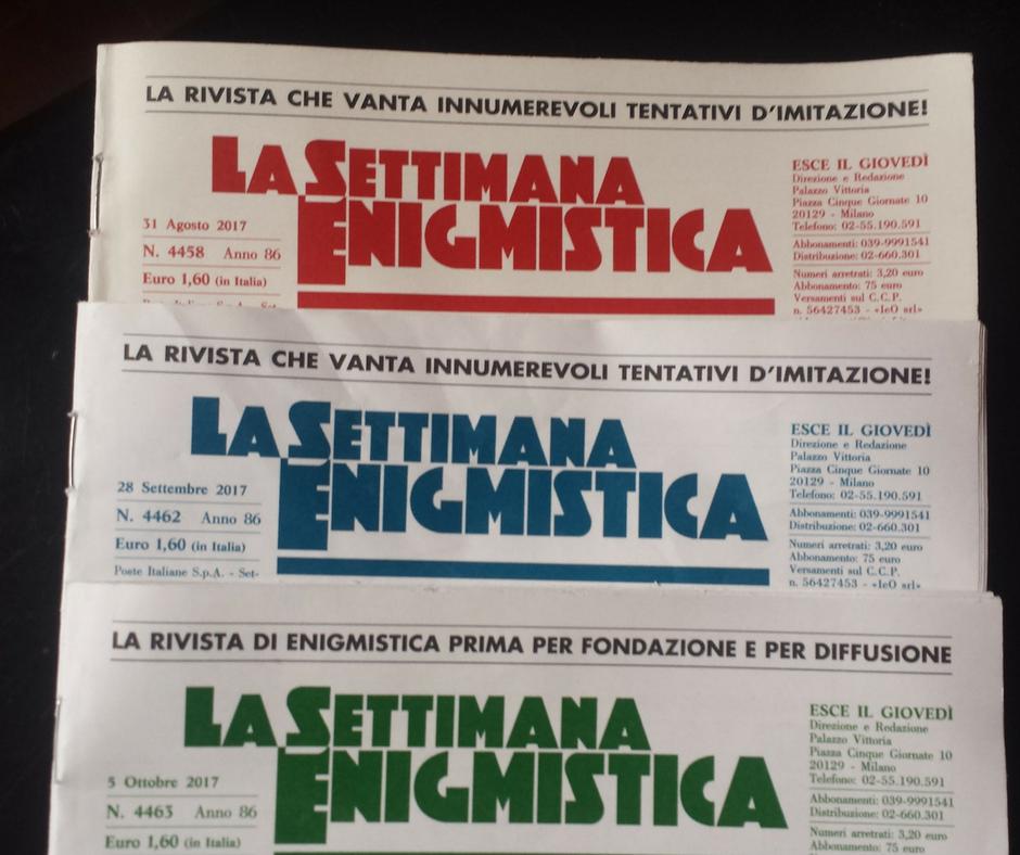 """""""La Settimana Enigmistica"""""""