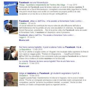 razzismo e Facebook